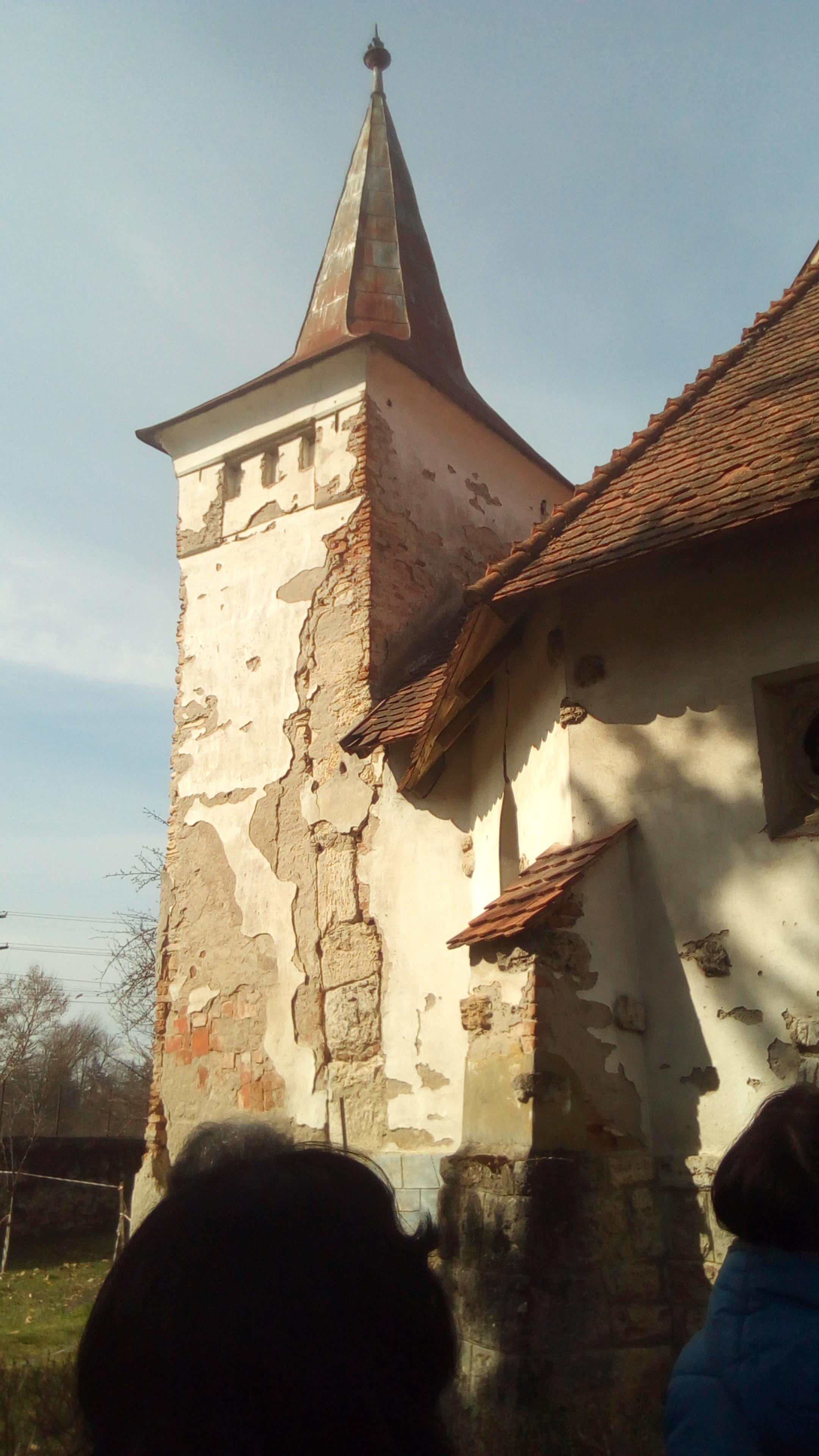 Cea mai veche biserică din România actuală. Datează din vremea năvălirii mongole